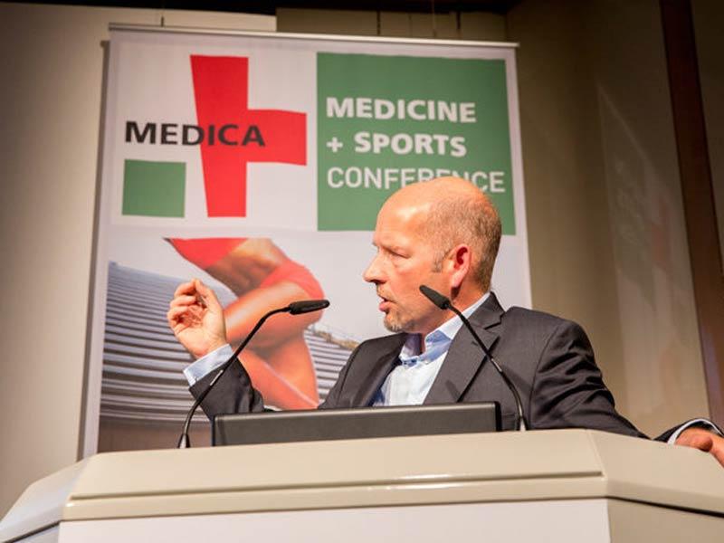 MEDICA MEDICINE + SPORTS CONFERENCE presents future topics of sports medicine
